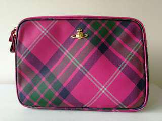 Vivienne Westwood leather laptop case 西太后電腦文件袋