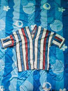 Loose stripes top