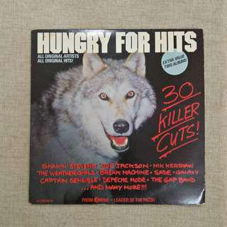 LP: Hungry For Hits (Compilation/Various Artist) Double 2 x Vinyl Records