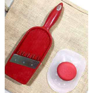 French Fry Cutter (Red Colour)