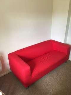 IKEA KLIPPAN Two Seater Sofa