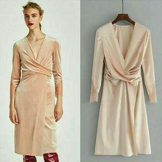 Dress, velvet