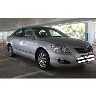 Toyota Camry - Budget/Cheapest Car Rental for Grab/Personal Use