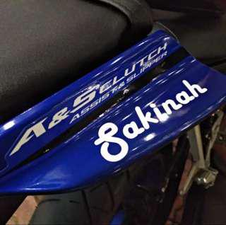 Customise Sticker/Decal