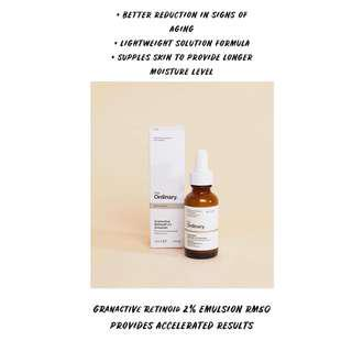 THE ORDINARY GRANACTIVE RETINOID 2% EMULSION READYSTOCK