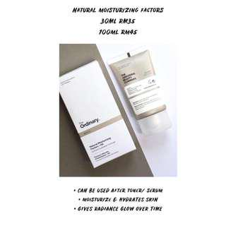 THE ORDINARY NATURAL MOISTURIZING FACTORS READYSTOCK