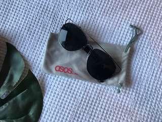ASOS structures sunglasses