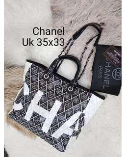 Chanel tote bag deuvile