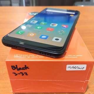 Xiaomi Redmi 5 Plus 3 32 Warna Black Garansi Tam Resmi Bisa Tt