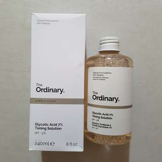 (SHARE 10/20ML)The Ordinary Glycolic Acid 7% Toning Solution