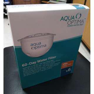 Aqua Optima Water Filter Cartridges ( 6 pack Box )