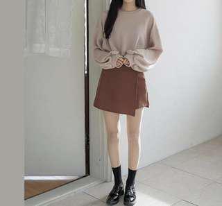 🚚 韓國拼接褲裙
