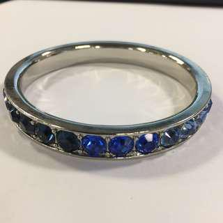 juicy couture bracelet 藍石銀色手鐲