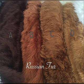 SALE !! UK 100x150 Karpet bulu rusian fur ready kode A dan C