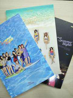 (wts) twice dtna unsealed albums