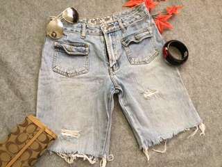 TATTERED SHORT FROM JAPAN