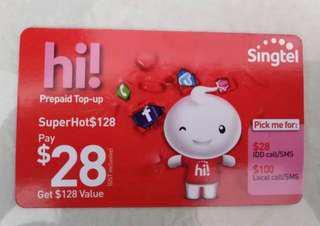 SingTel Hi Card
