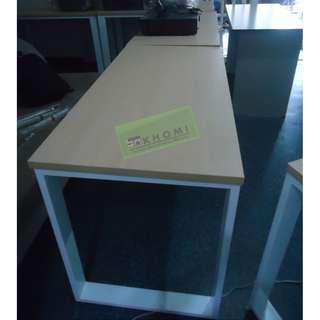 *x*Metal Legs Freestanding Table Office Furniture-Partition