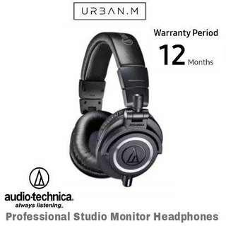 Audio-Technica ATH-M50X Professional Studio Monitor Headphone (black)