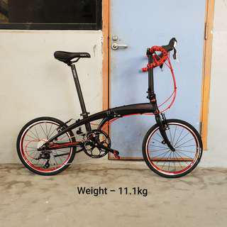 CLEARANCE - Crius Velocity 27speed Folding Bicycle