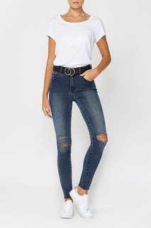 Decjuba Rip Knee Skinny Jean