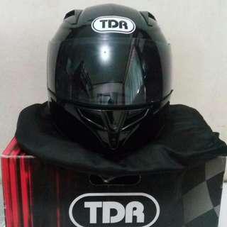 Helm Fullface TDR F3 Black Glossy Size L