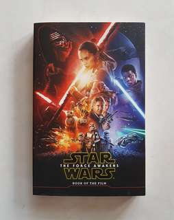 Star Wars The Force Awakens Book Of The Film