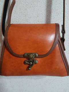 Petite Brown Sling Bag