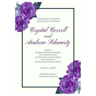 Invite Cards Print