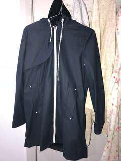 ZARA raincoat material jacket