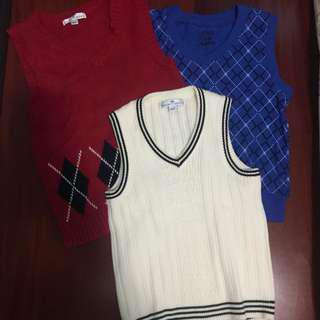 Boys Vest - Set of 3