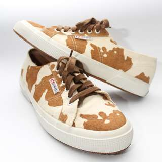 SUPERGA 2750 leahorse brown/white - UNISEX