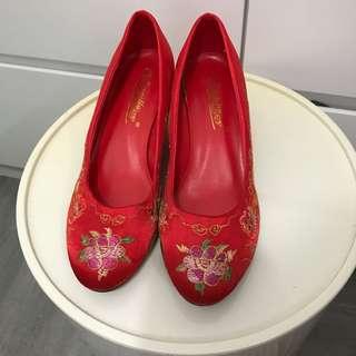 結婚褂鞋women wedding shoes size 38