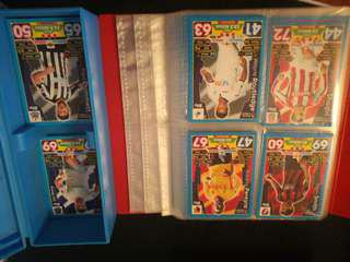 Match Attax Collector Box with Cards 17-18