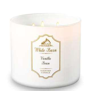 BBW White Barn 3-Wick Scented Candle