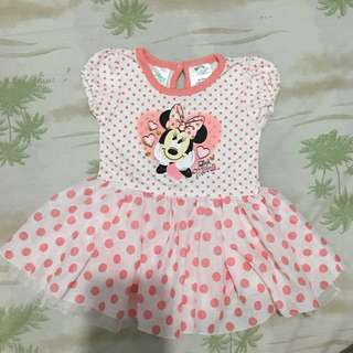 Disney baby minnie dress