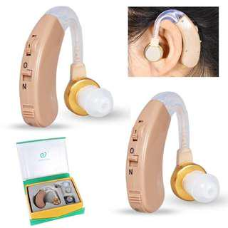 助聽器 F-138  耳掛式 聲音放大器 Digital Tone Hearing Aids Sound Adjustable