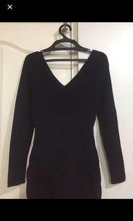 Mango Basic Black Dress
