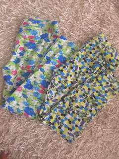 Floral leggings bundle