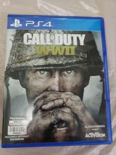 Call of duty WWII 有code