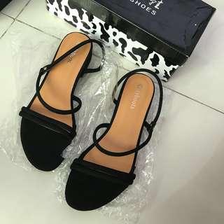 Korean Flats Sandals Heels