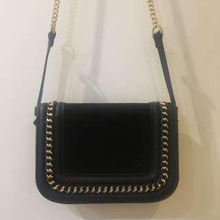 Topshop Black Sling bag