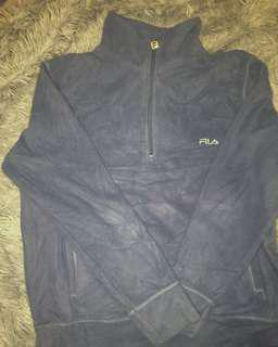 Fleece Fila Quarter Zip