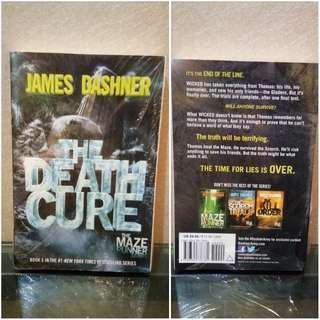 English Novel Death Cure (Seri Maze Runner) - James Dashner (BARU) Bestseller