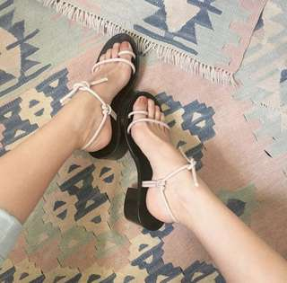 """2"""" Block Heels Trendy Sandals"""