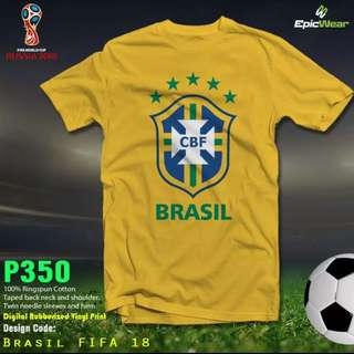 BRASIL FIFA (yellow) plus size