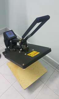 Set print Tshirt, heat press, printer, cameo cutter