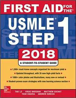 (PDF) First Aid for the USMLE 2018