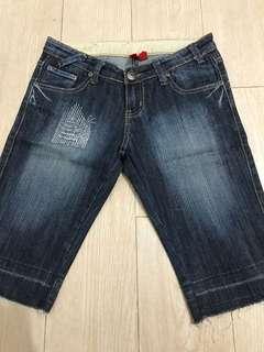 Capri Bermuda Jeans