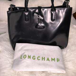 Longchamp Roseau Heritage Tote Bag